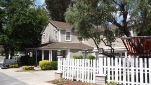 A house as an example of Los Angleles residential property
