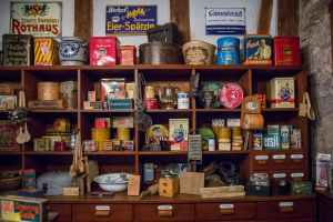 get rid of extra stuff by having a garage sale