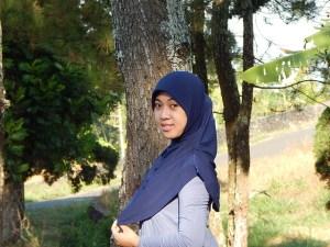 A Muslim woman.