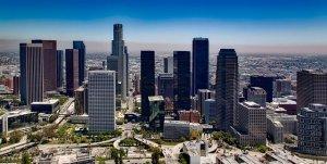 A view of LA.