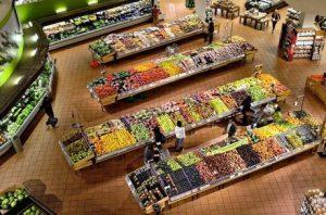 A supermarket.