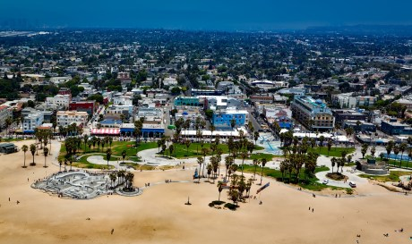 The view of Venice Beach, one of the best LA neighborhoods for newcomers.