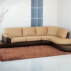 Beige Microfiber Sectional Sofa With Storage Chaise Queen Sleeper Width 12 Collection Of Abbyson Living Charlotte