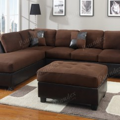 Dark Brown Sofa Design Ashley Lenoris Reclining 12 Photo Of Diana Leather Sectional Set