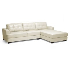 Baxton Studio Dobson Leather Modern Sectional Sofa Comprar Sofas Online Portugal 12 Best Ideas Of