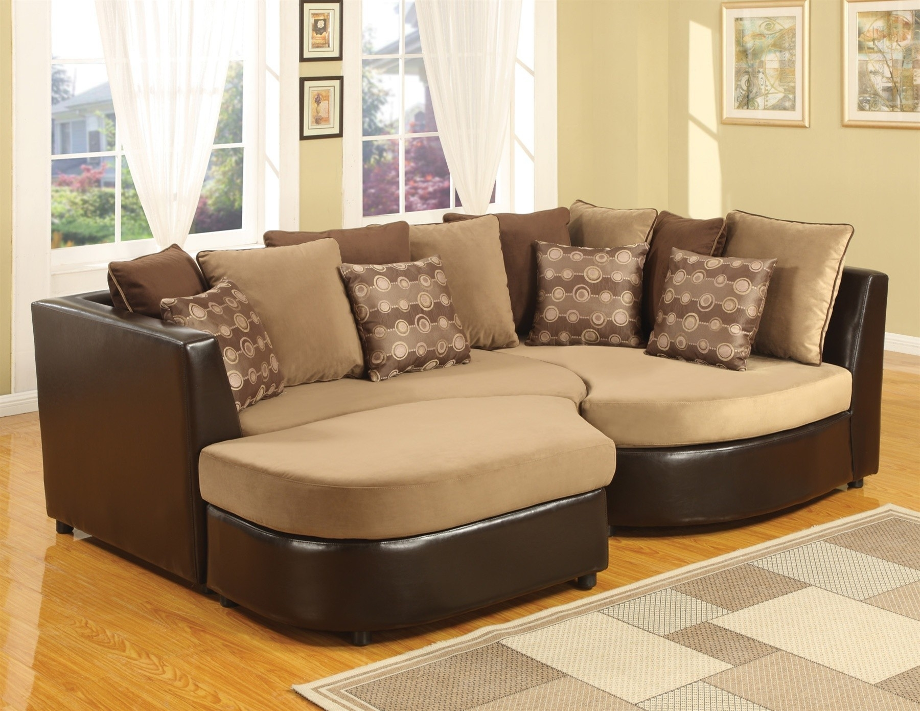 wide sofas semi circle sofa uk 12 best collection of extra sectional