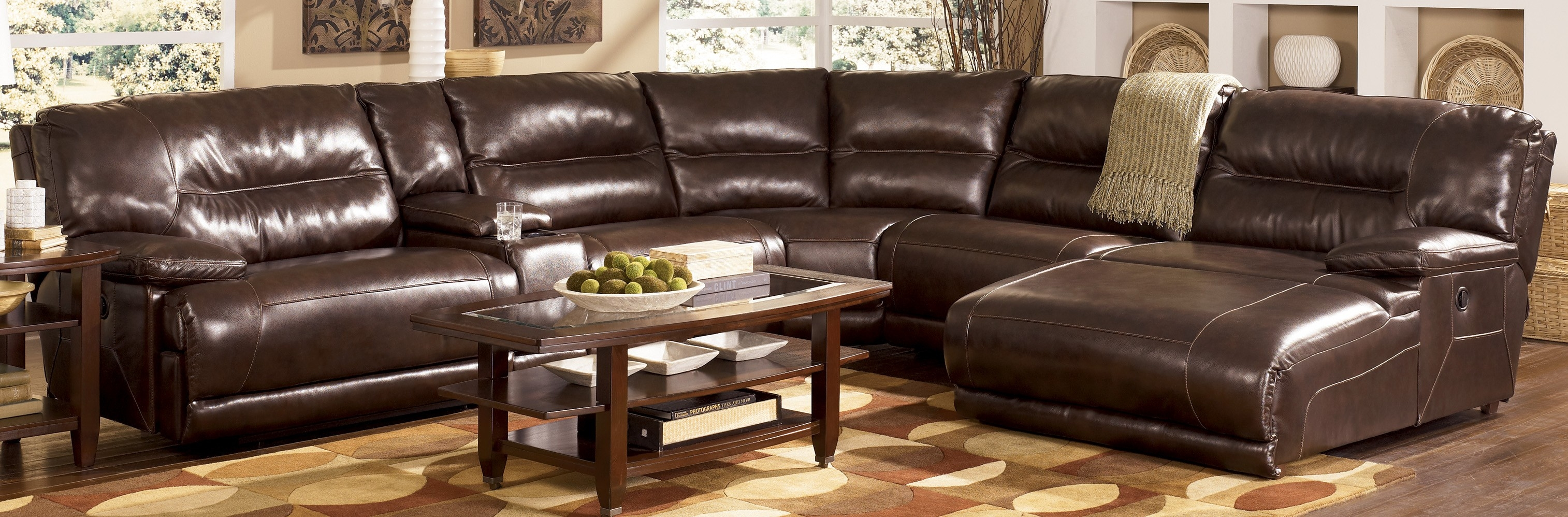 8 piece leather sectional sofa black chesterfield second hand 12 best collection of 6