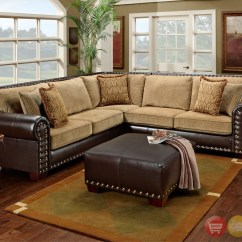 Leather And Chenille Sofa How To Clean Ikea Bed 12 Best Of Sectional