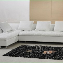 Baxton Studio Dobson Leather Modern Sectional Sofa Bed Queen Sleeper Thesofa