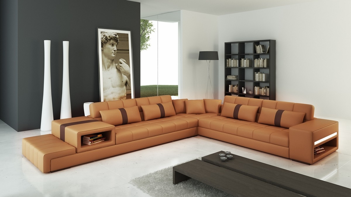 12 Inspirations of Camel Sectional Sofa