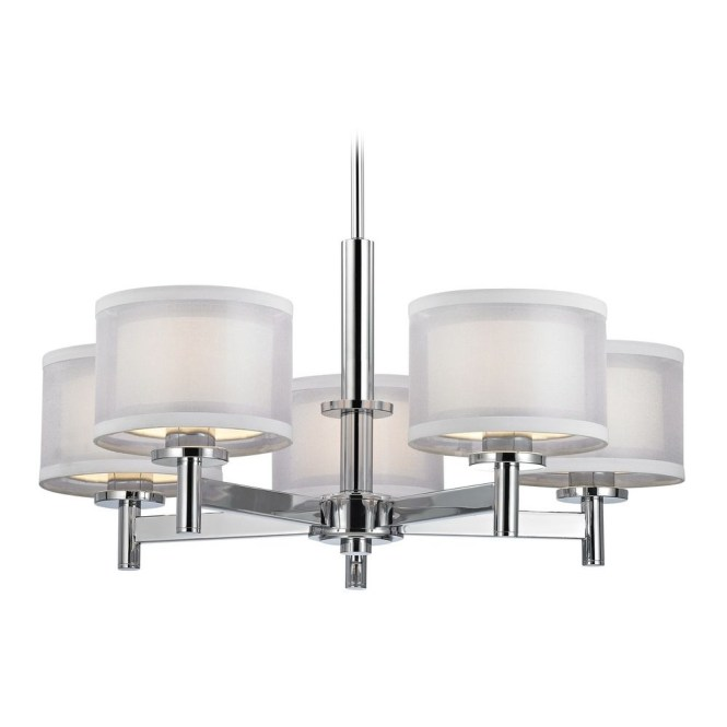 Chandeliers Destination Lighting With Small Chrome Chandelier 7 Of 12