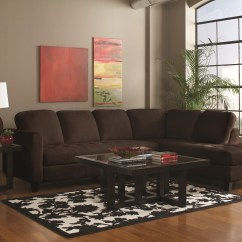Coffee Table Size For Sectional Sofa Down Filled Leather 12 Best Of With Chaise