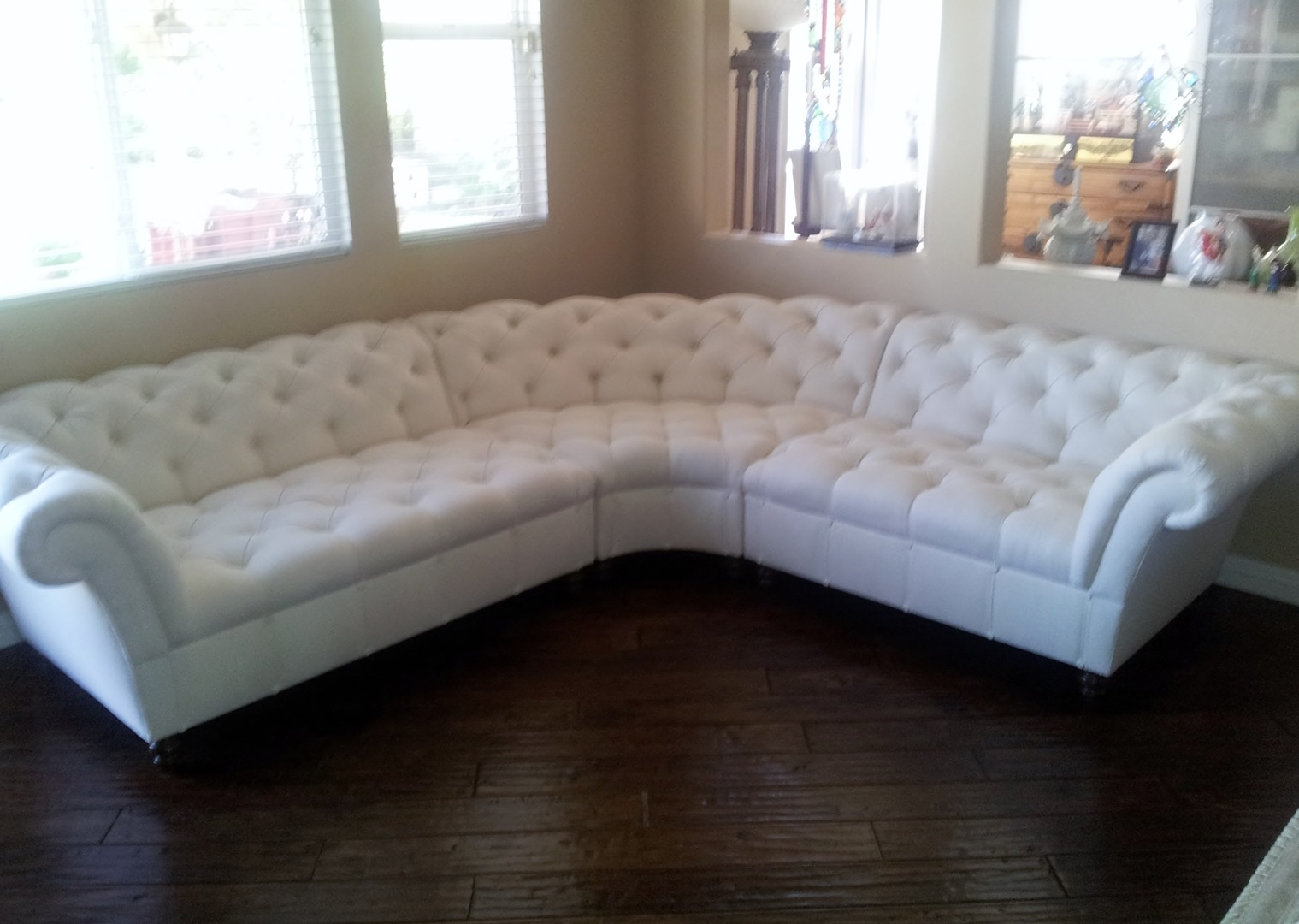 custom sectional sofas los angeles glass top sofa table made perfect full grain leather