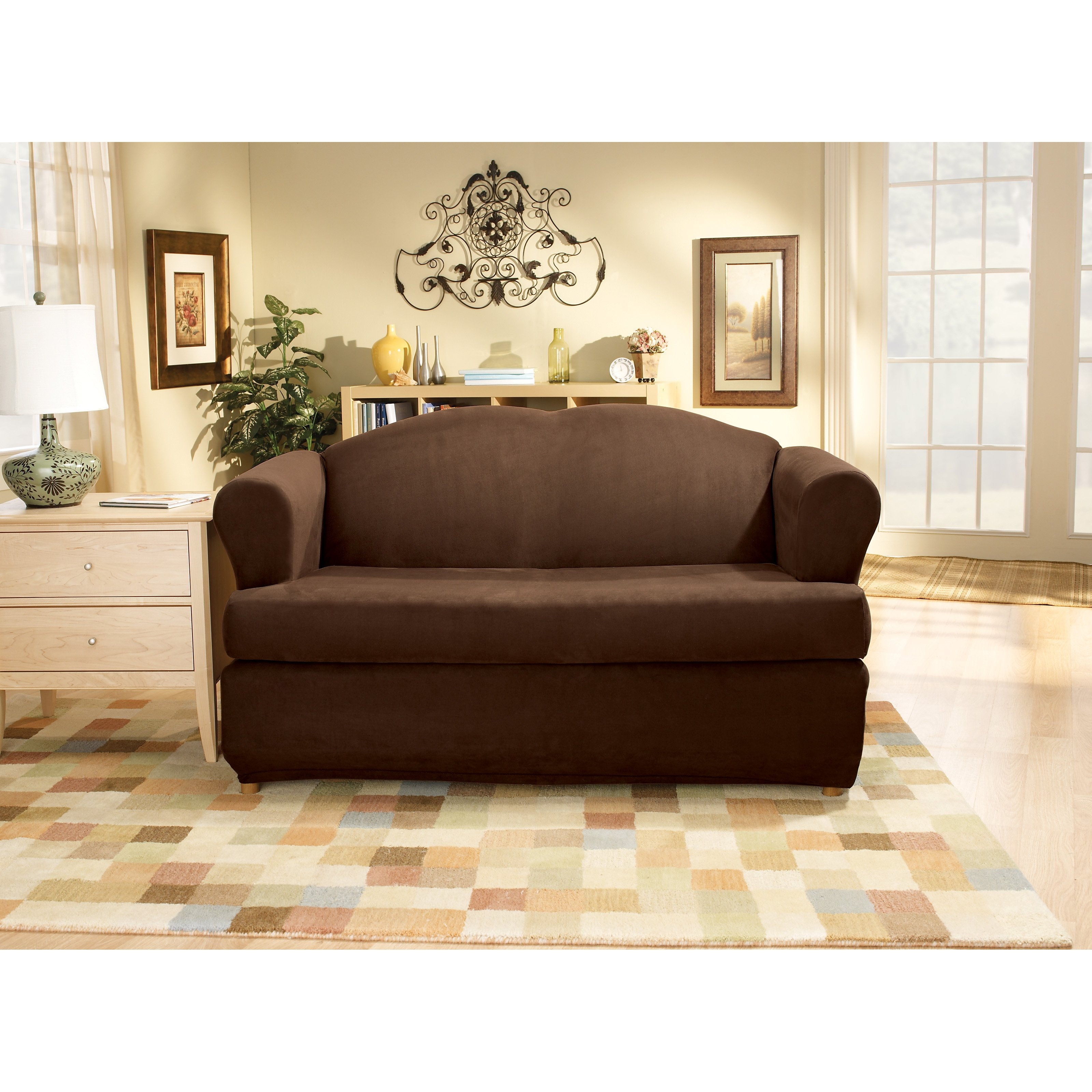 3 Piece Sectional Sofa Slipcovers Furniture Outfit Your