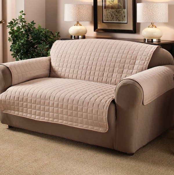 Contemporary Sofa Slipcover - Year of Clean Water