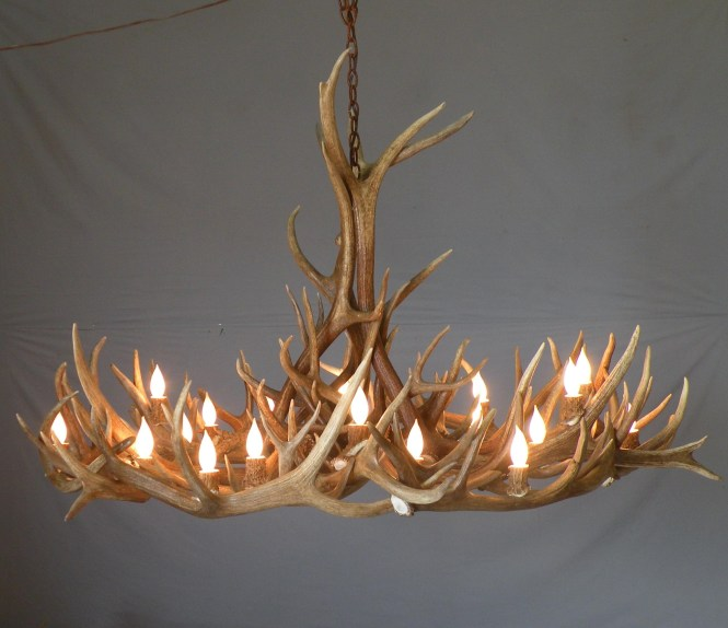 Inspiration About Lamp Deer Horn Chandelier With Authentic Look For Your Lighting Regard To Modern