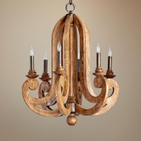 12 Collection of Wooden Chandeliers