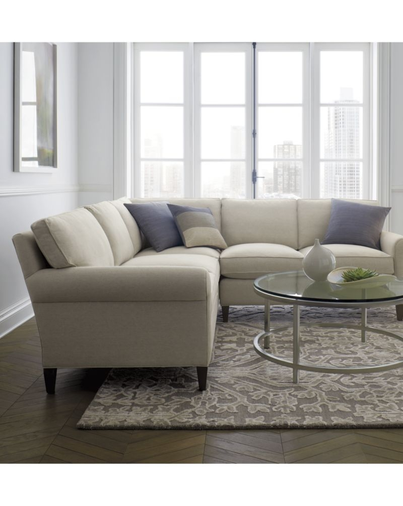 12 Best Collection Of Crate And Barrel Sectional Sofas