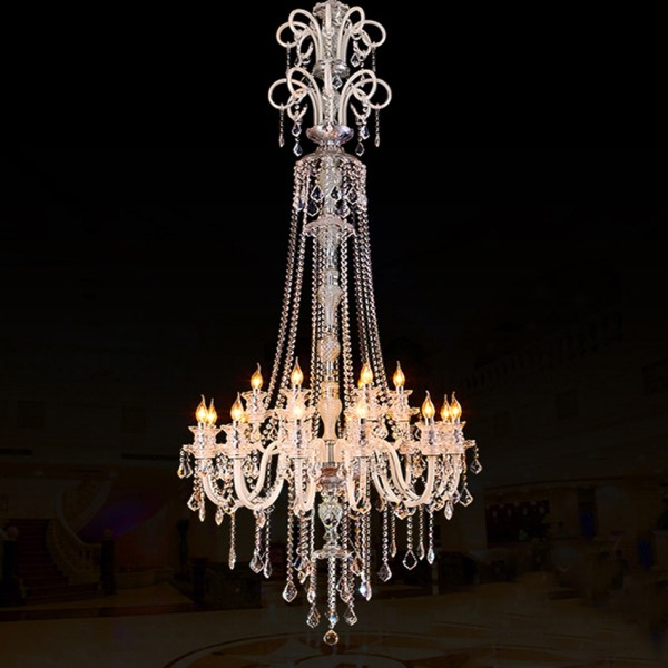 Extra Large Modern Crystal Chandelier