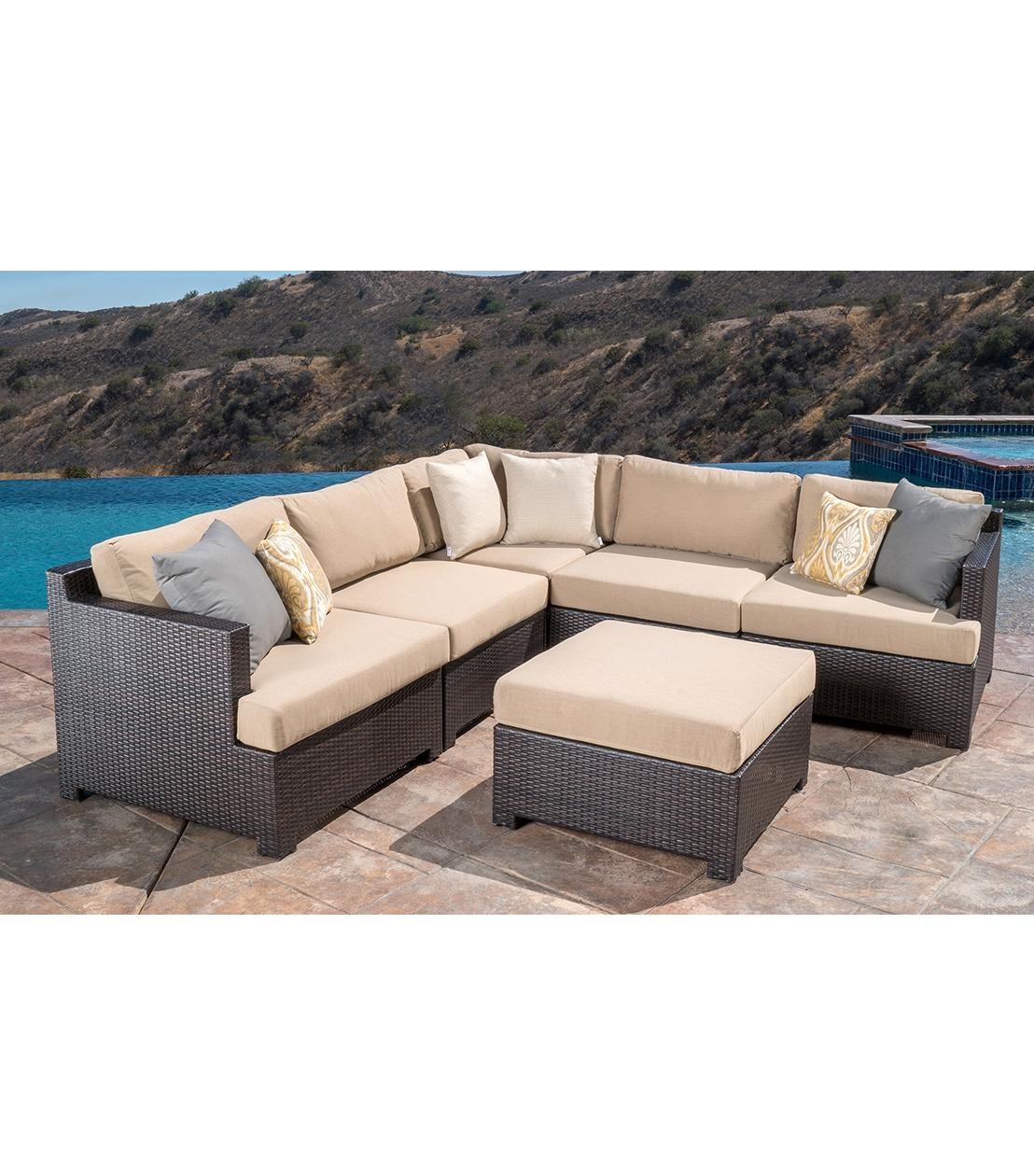 harper fabric 6 piece modular sectional sofa pierre paulin 12 ideas of