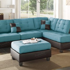 Turquoise Leather Chair And Ottoman Living Room Chairs Ikea 12 Collection Of Abbyson Charlotte Beige Sectional