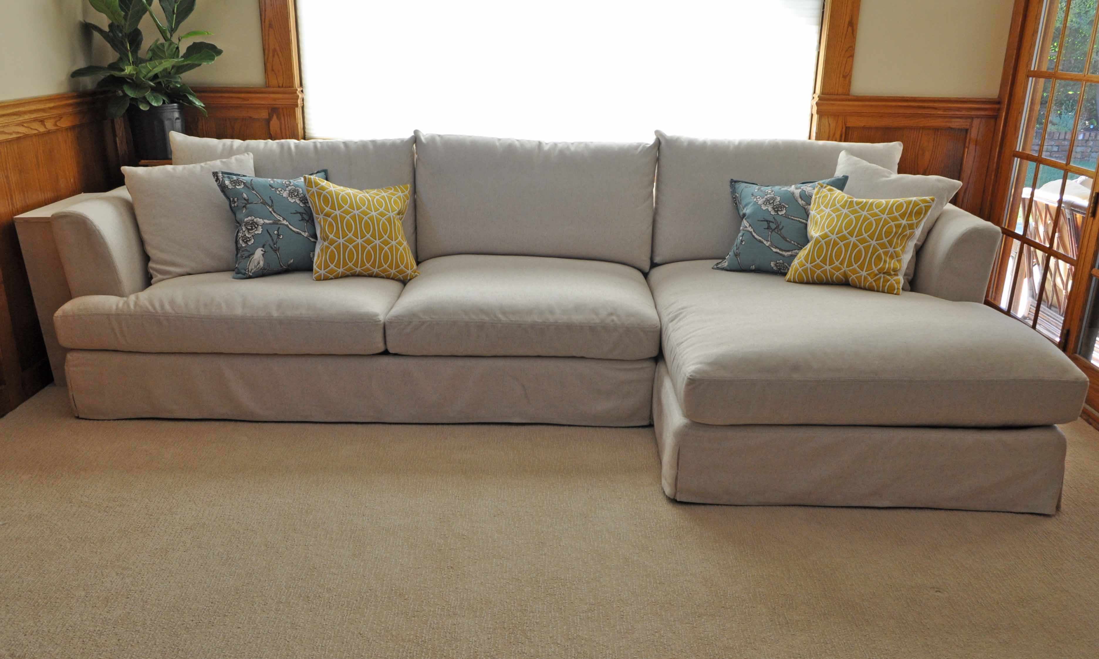 cream colored sofa pillows karlstad bed 12 best ideas of sofas
