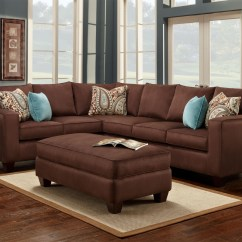 Corey Chocolate Brown Sectional Sofa Ashley Furniture Sofas Sectionals 12 Photo Of