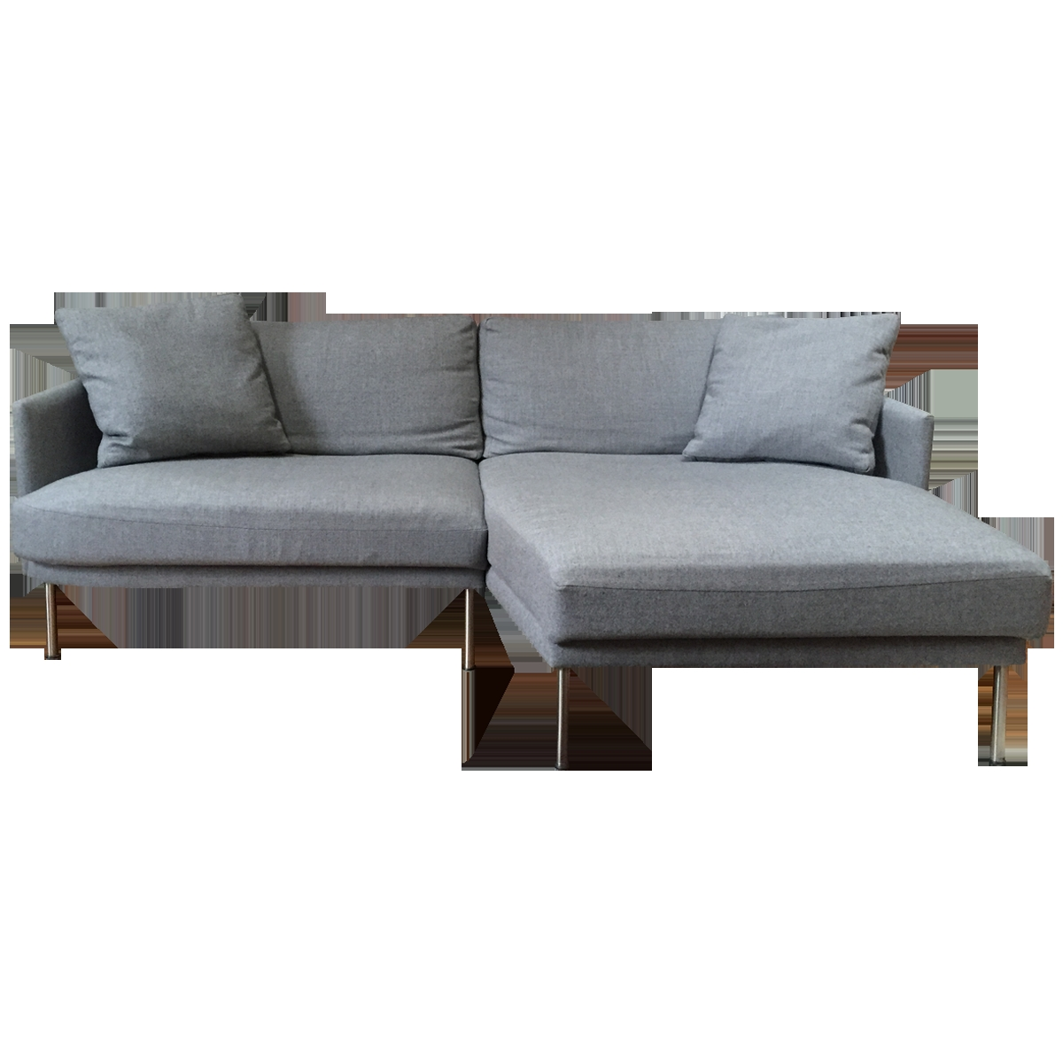 mini sectional leather sofa and loveseat costco compact sofas cream