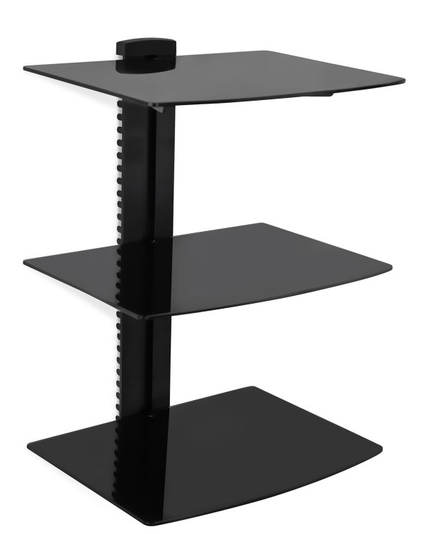 Wall Mount Av Component Shelf