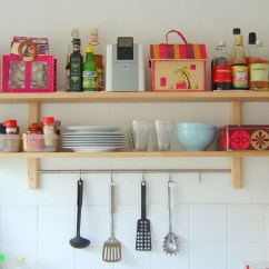 Kitchen Wall Shelving Counter Island 12 Best Collection Of Shelves