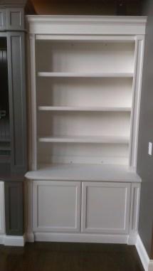 Bookshelf with Cabinet Base