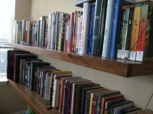 Build Your Own Home Library Shelves