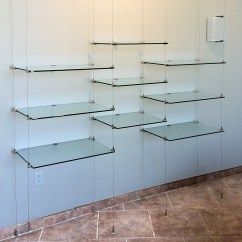 Hanging Kitchen Shelves Aid Range 12 Photo Of Glass From Ceiling