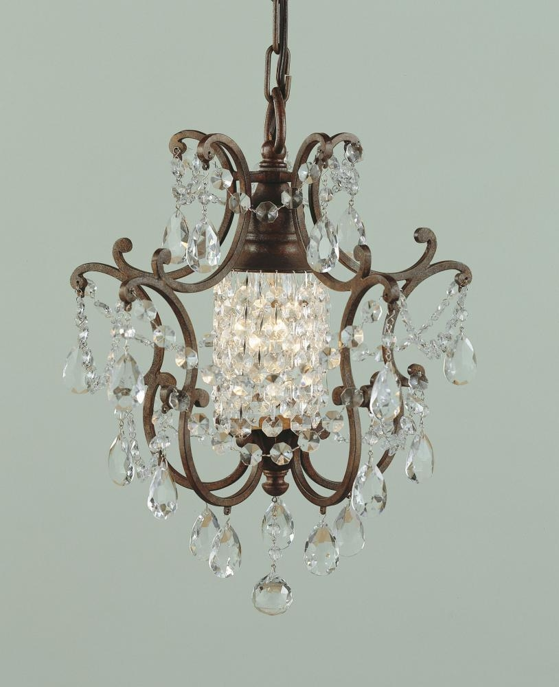 12 Best Collection of Small Bronze Chandelier