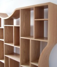 15 Ideas of Contemporary Oak Shelving Units