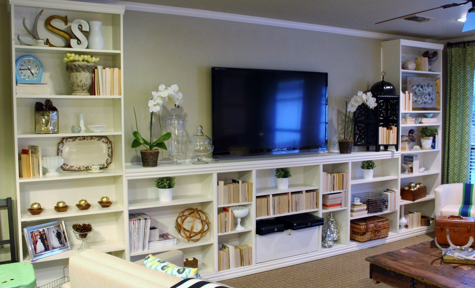 15 Best Of Built In Bookcases With Tv