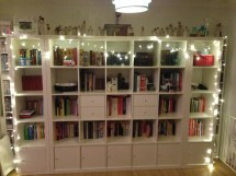 Library Bookcase with Lighting