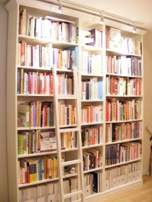 IKEA Billy Bookcase Library Ladder