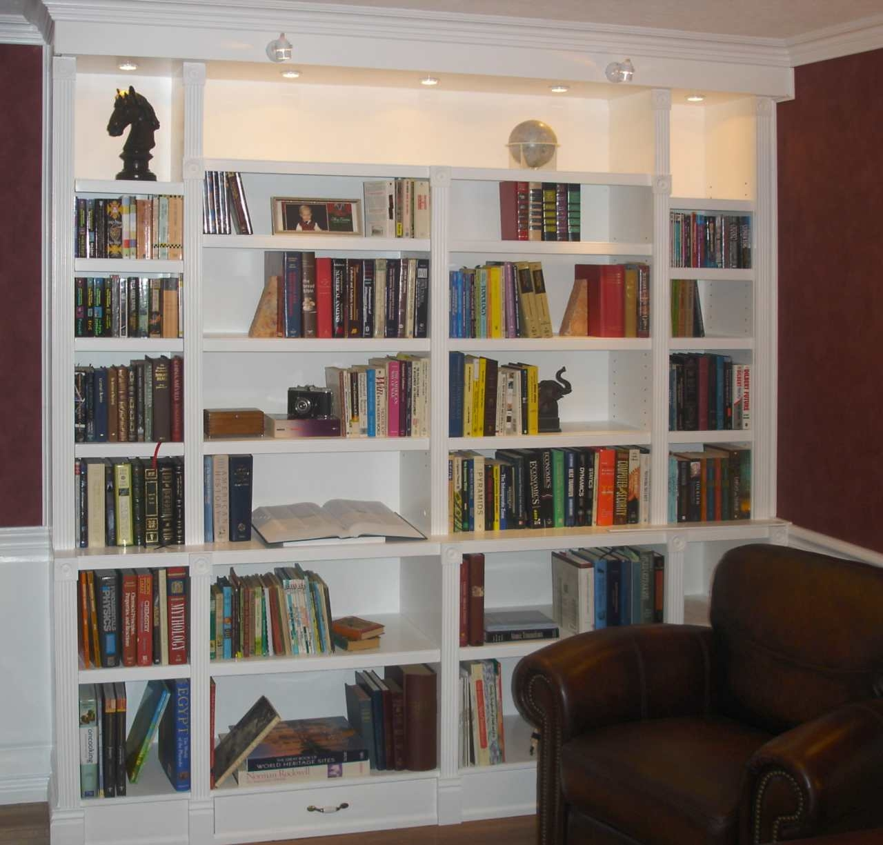 chair with built in bookshelf room essentials folding 15 inspirations of full wall bookcases