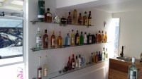 12 Collection of Glass Shelves for Bar Area