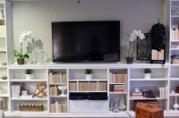 Bookcase Tv Stand | Billy Bookcase Tv Stand | Bookcase Tv ...