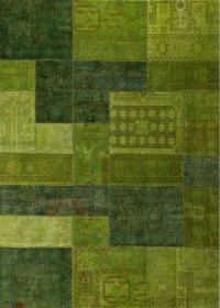 15 Collection of Green Wool Area Rugs