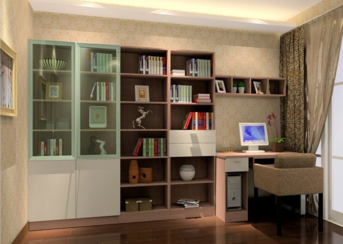 15 Collection Of Study Bookcases