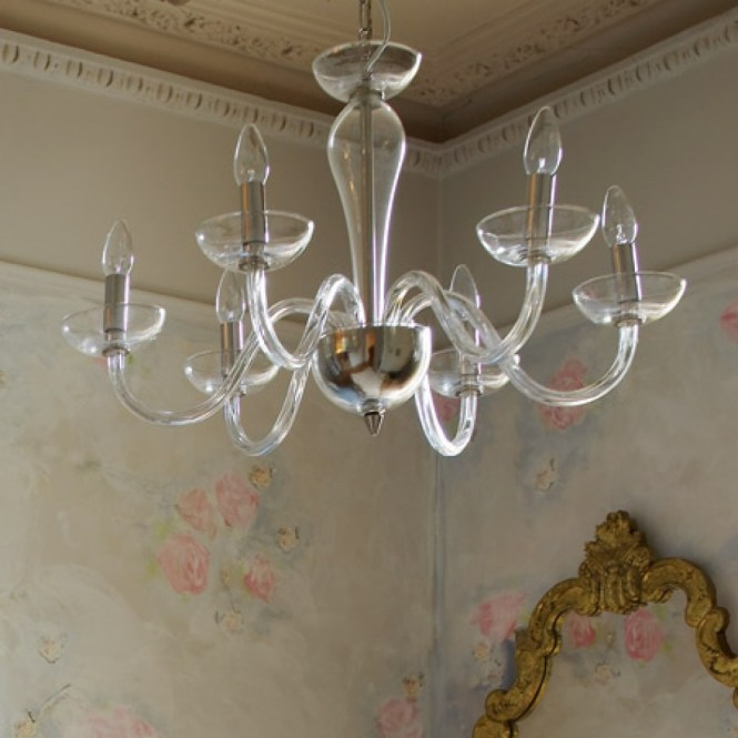 Italian Glass Chandelier Chandeliers Ceiling Lights Graham With Simple 7 Of 12