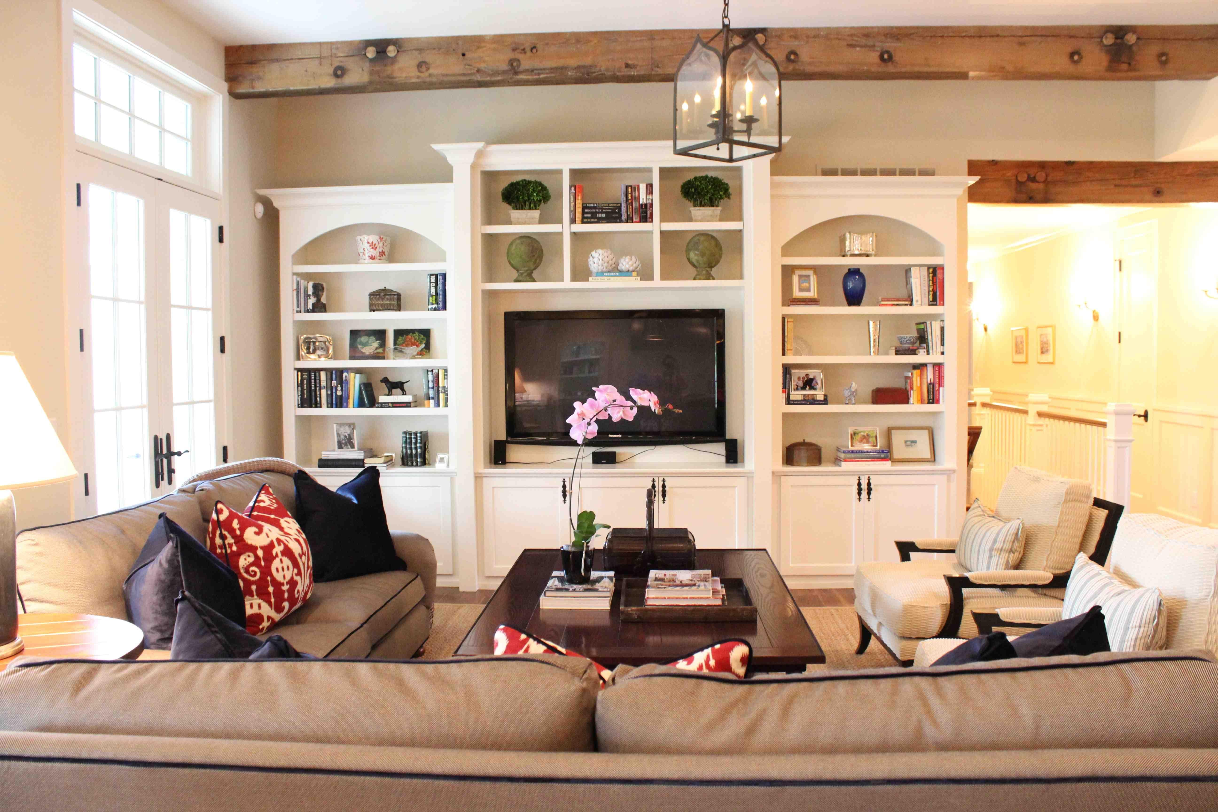 Family Room Bookcase Ideas
