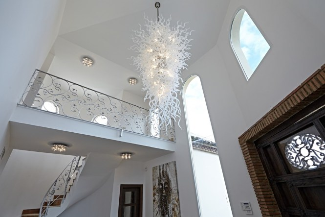 Stylish Large Contemporary Chandeliers Modern Light Fixtures For 12 Of