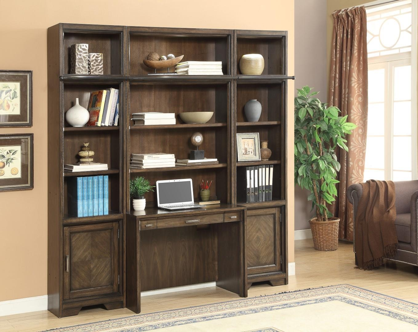 15 Ideas of Home Library Wall Units