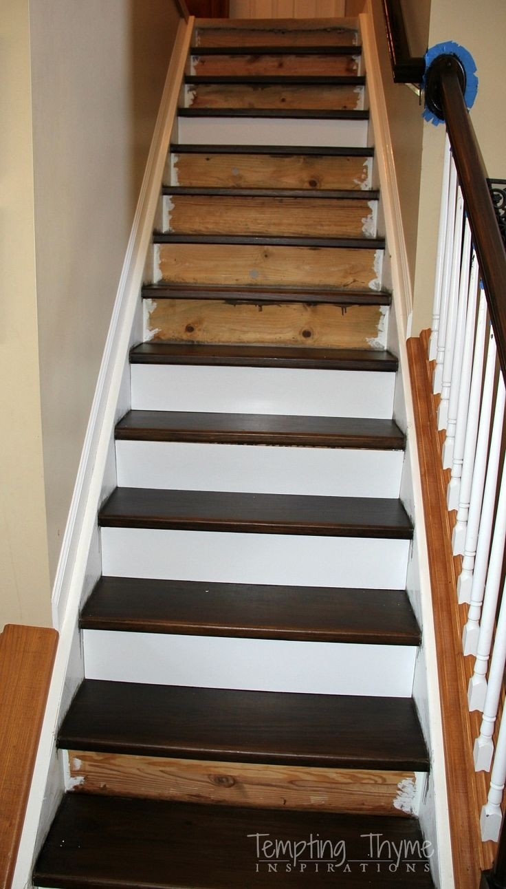20 Best Collection Of Carpet For Wood Stairs | Redoing Stairs With Wood