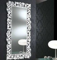 20 Inspirations of White Decorative Mirrors