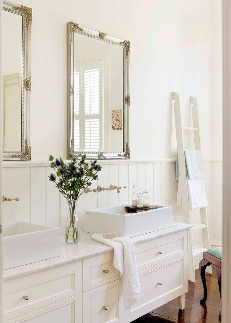 30 Inspirations of French Style Bathroom Mirrors